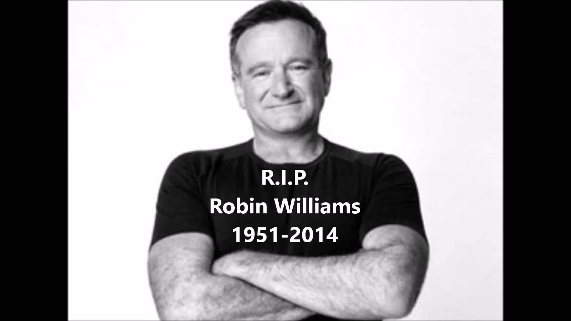 Robin Williams' suicide