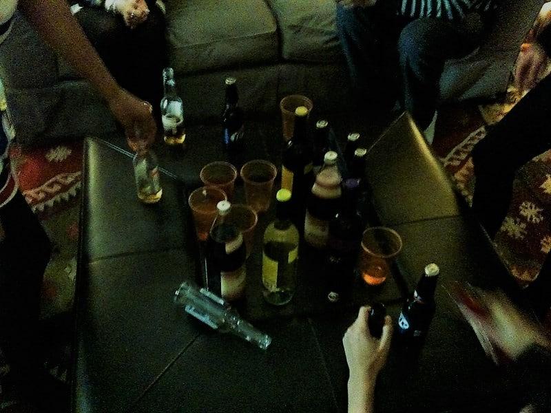 dangerous binge drinking