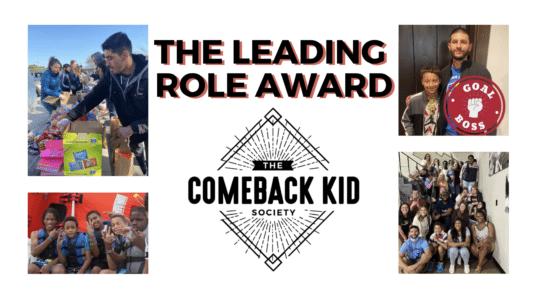 leading role comeback kid